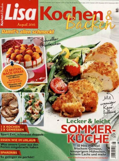 Lecker Zeitschrift Abo kochen backen abo kochen backen abonnement beim