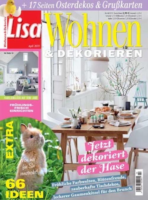 Lisa Wohnen & Dekorieren Abo - hier günstig und sicher abonnieren