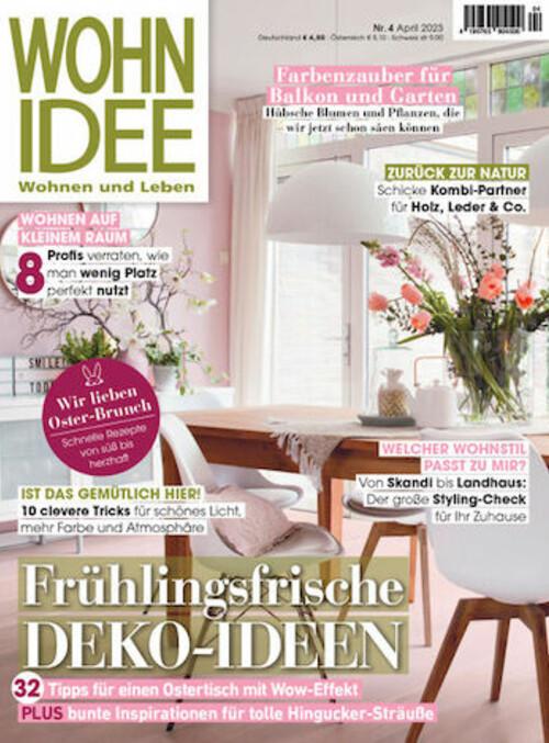 Wohnidee Magazin wohnidee abo wohnidee abonnement beim lorenz leserservice abonnieren