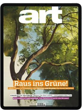 Zeitschrift Art Digital E Paper Abo