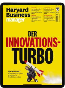 Zeitschrift Harvard Business Manager Digital E-Paper Abo
