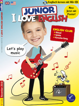 Zeitschrift I love English Junior Abo