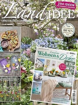 Zeitschrift LandIDEE + LandIDEE Wohnen U0026 Deko Abo