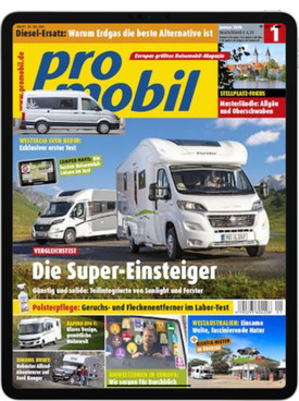 Zeitschrift Promobil E-Paper Abo