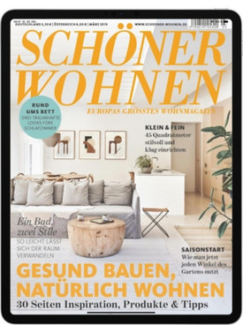 sch ner wohnen digital e paper abo sch ner wohnen digital e paper abonnement beim lorenz. Black Bedroom Furniture Sets. Home Design Ideas